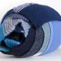 Blue Knitting by Celia Pym